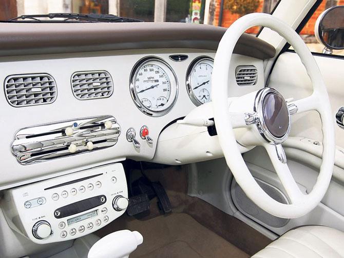 Nissan's retro car range: Nissan Figaro