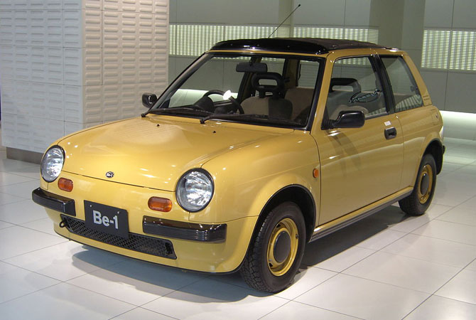 Nissan's retro car range: Nissan Be-1
