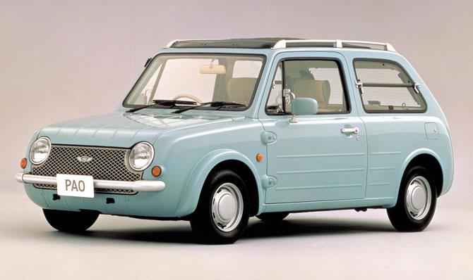 Nissan's retro car range: Nissan Pao