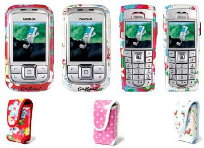 Cath Kidston retro-styled Nokia mobile phones