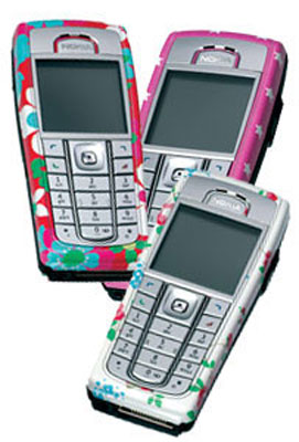 Cath Kidston retro-styled Nokia mobile phones