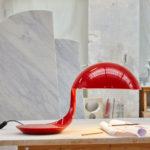 1960s classic: Cobra table lamp by Elio Martinelli