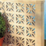 Petal Leaf concrete wall blocks