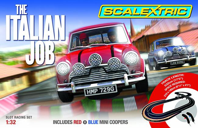 Scalextric limited edition Italian Job set