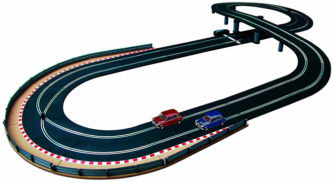 Scalextric limited edition Italian Job set