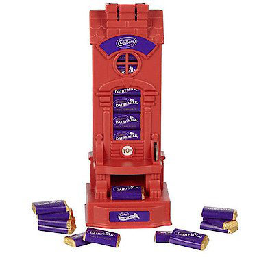 Cadbury's Dairy Milk Miniatures Dispenser Machine