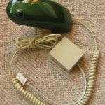 Retro and kitsch 1980s Frog Phone on eBay