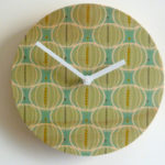 Objectify retro wooden wall clocks at Etsy