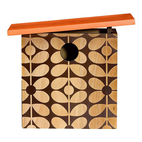 Go retro with the Orla Kiely bird house range