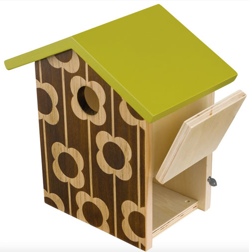 Go retro with the Orla Kiely bird house range