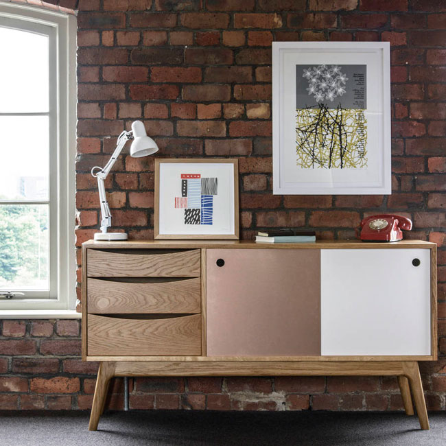 Mid Century Sideboards and Cabinets by James Design