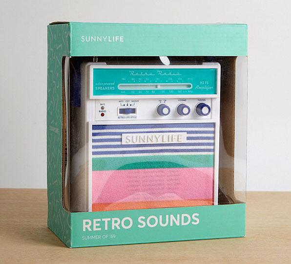 Retro audio: Sunnylife Catalina portable speaker
