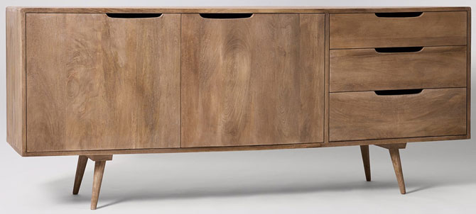 Randall midcentury-style sideboard at Swoon