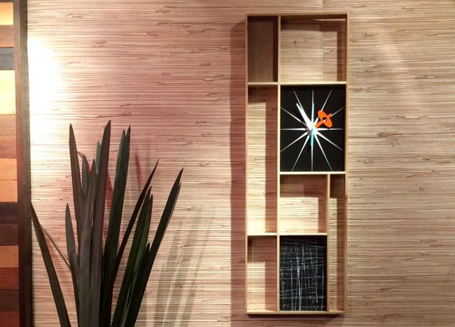 Midcentury and Mondrian-inspired clocks by Jetset Retro
