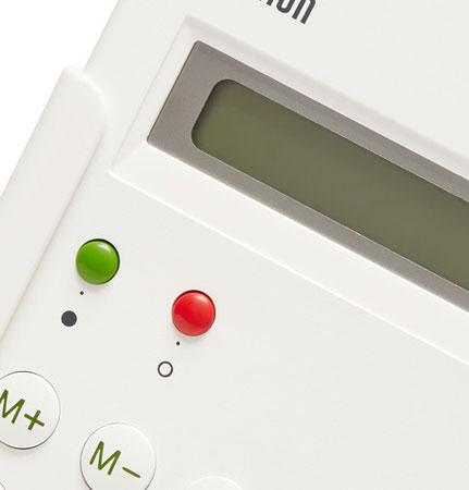 Dieter Rams-designed Braun ET66 calculator reissued as a limited edition
