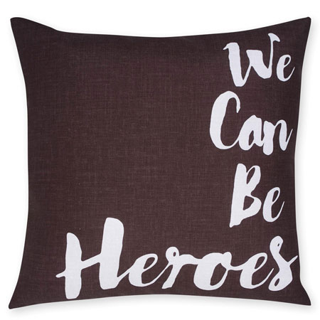 David Bowie-inspired reversible cushion at Next