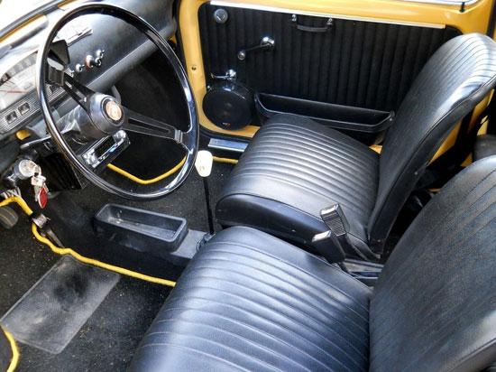 Fully restored 1972 Fiat 500L