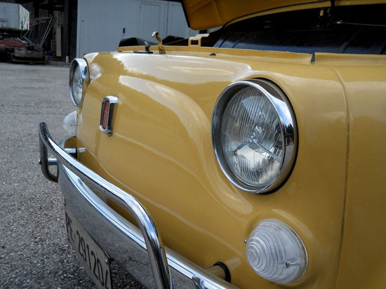 Fully restored 1972 Fiat 500L