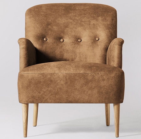 Midcentury-style London armchair range by Swoon Editions