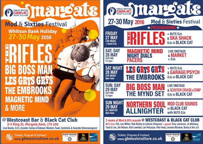 Margate Mod and 60s Festival