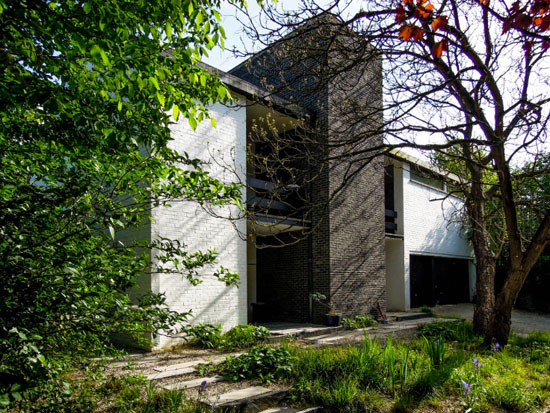 1960s modernist property in Uccle, Belgium
