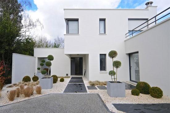 Robert Mallet-Stevens-inspired modernist property in Bordeaux, Aquitaine, France