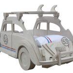 Herbie-inspired VW Beetle bed at Cuckooland