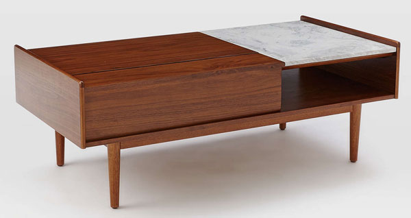 In the sales: West Elm midcentury pop up coffee table