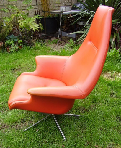 1960s Peter Hoyle PH7 swivel chair
