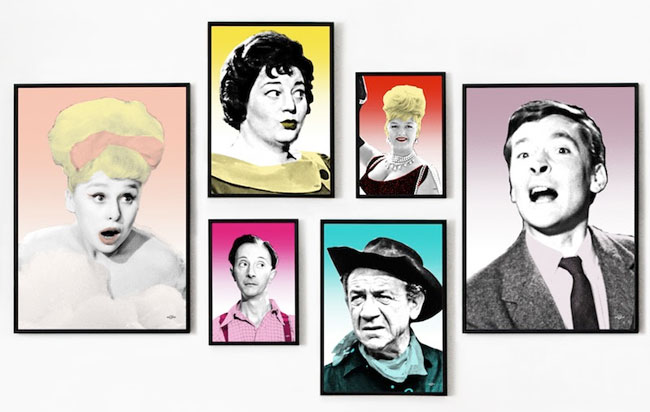 The officially licensed Carry On artwork collection by Art & Hue