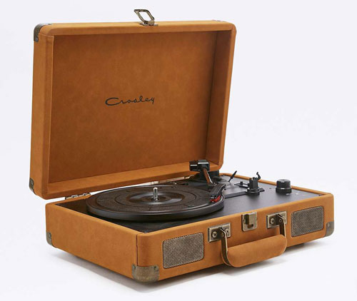 Crosley Cruiser record player returns in new suede finishes