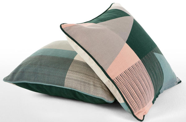 Midcentury-style Axle cushion collection at Made
