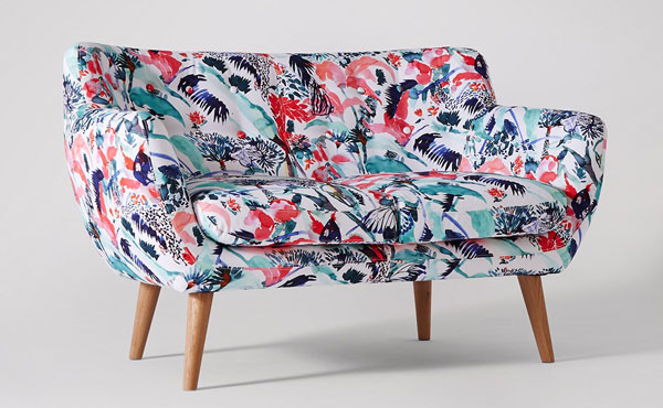 Limited edition Claire De Quénetain x Swoon Editions retro-style Mimi seating range