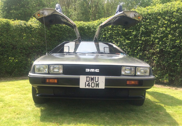 Original low mileage 1981 DeLorean DMC-12 car