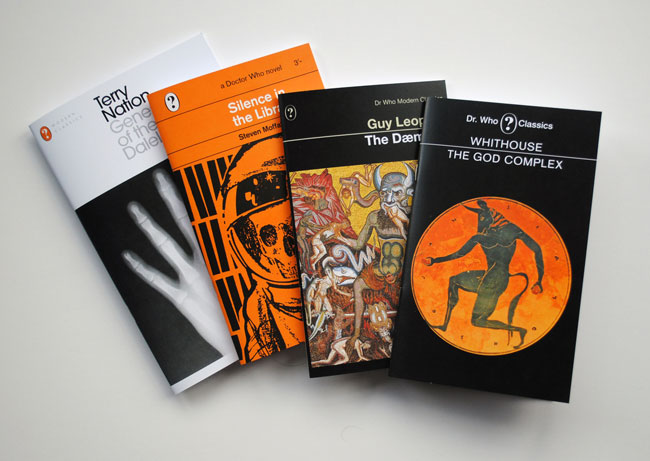 Doctor Who Penguin Book-style Notebooks by Coleman Design