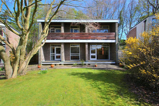 Retro house for sale: 1960s modernist property in Sheffield, South Yorkshire