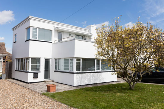 1930s JT Shelton-designed art deco property in Frinton-on-Sea, Essex