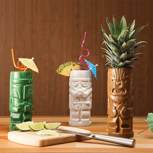 Star Wars Geeki Tikis at ThinkGeek