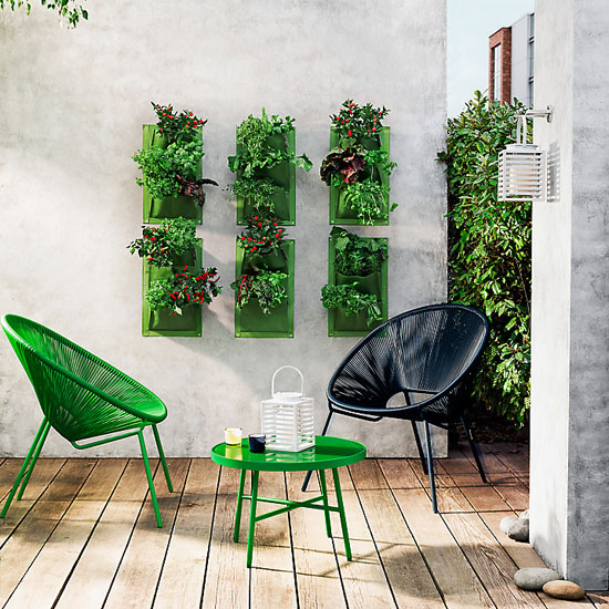 Retro-style Salsa outdoor chairs at John Lewis