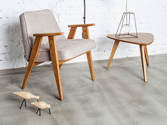 Midcentury-style coffee tables by 366 Concept at Monoqi