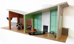 Midcentury miniatures: Floating House Shelves by Judson Beaumont for Straight Line Designs