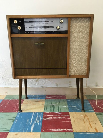 1950s Ace Minigram with BSR record deck