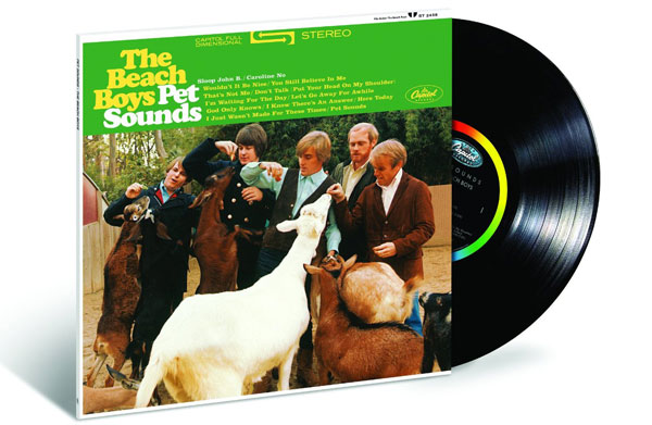The Beach Boys Pet Sounds album gets the full 50th anniversary CD and vinyl reissue treatment