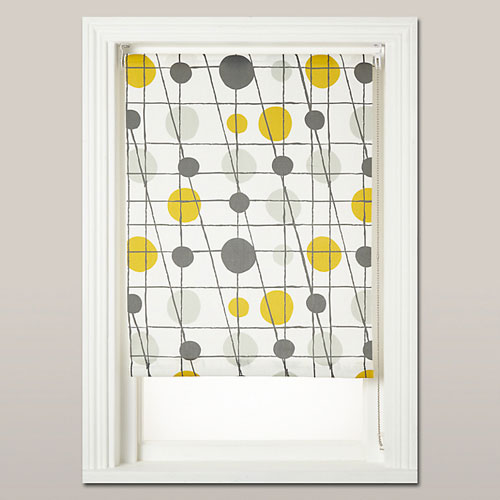 Mini Moderns retro-syle roller blinds exclusive to John Lewis