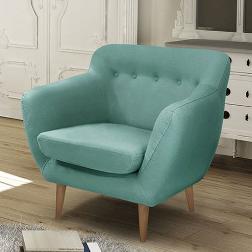 Midcentury-style Jen sofa and armchair range by Jalouse Maison at Monoqi