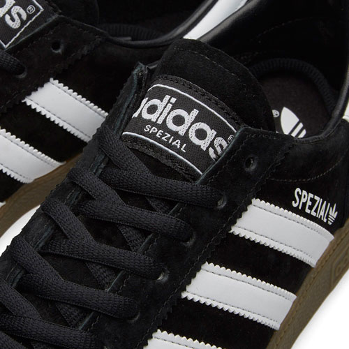 1970s Adidas Handball Spezial trainers reissued in black and white