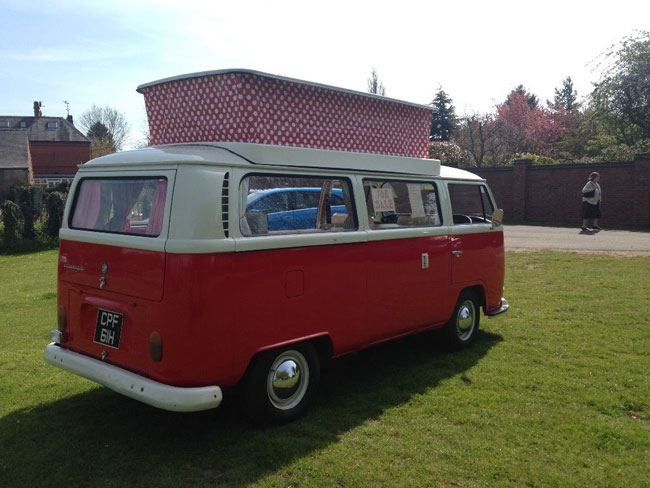 1970s Volkswagen T2 Bay Window Camper Van