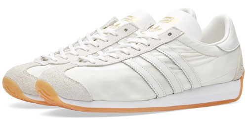 1970s Adidas Country OG trainers reissued in white and black finishes