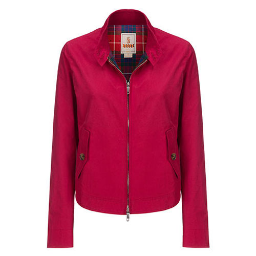 Baracuta introduces a range of G4 and G9 harrington jackets for women