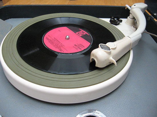 Restored 1960s Bush SRP30C portable record player
